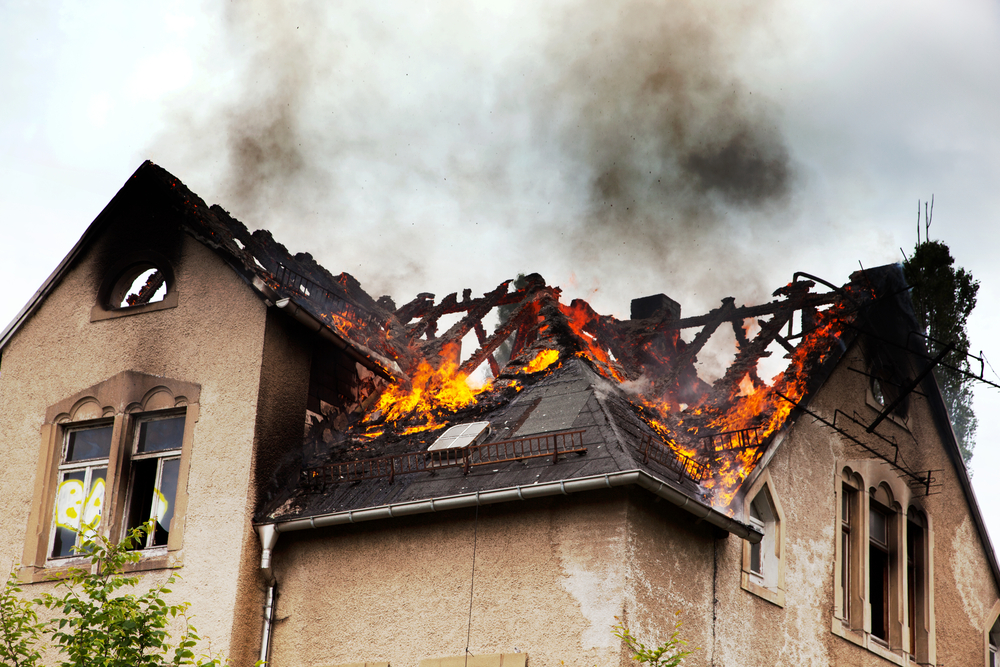Fire Damage in Minneapolis and St. Paul | Advance Companies, INC | House with fire damage