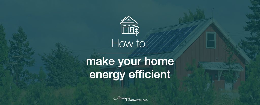 How to make an energy efficient home