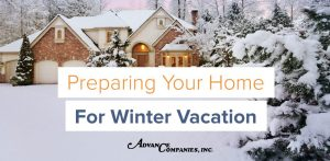 Winter vacation preparation checklist