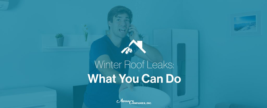 Winter roof leaks, what can you do
